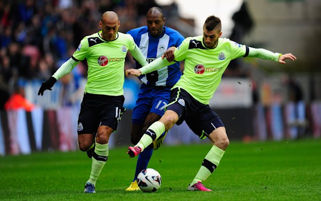 Wigan Athletic v Newcastle United - Premier League