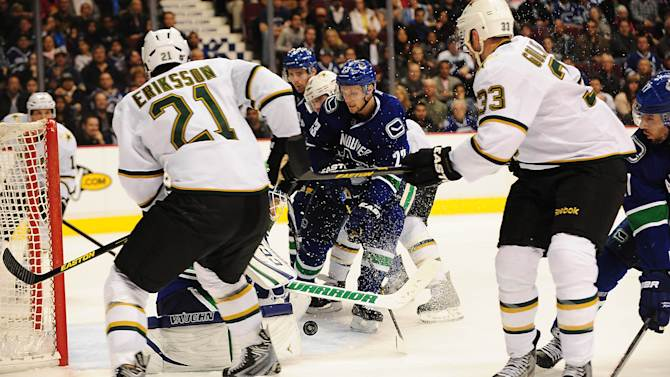 NHL: Dallas Stars at Vancouver Canucks