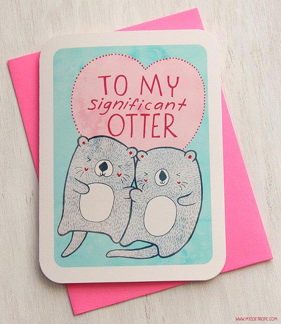 To My Significant Otter Card by MyZoetrope