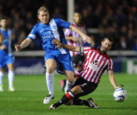 Soccer - Sky Bet League One - Peterborough United v Sheffield United - London Road