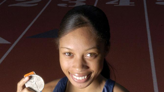 2004 U.S. Olympic Track and Field Medallist Allyson Felix - Portrait Session