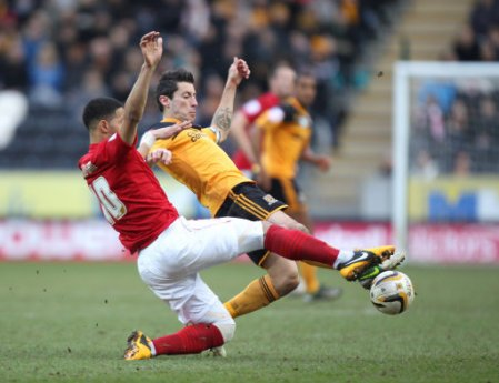 Soccer - npower Football League Championship - Hull City v Nottingham Forest - KC Stadium