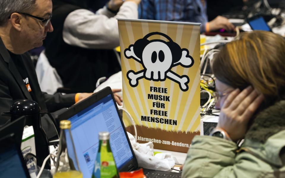 Pirate party makes a raid on German politics