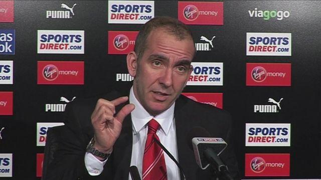 Di Canio and Pardew reflect after Sunderland victory [AMBIENT]