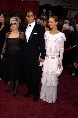 Johnny Depp and Vanessa Paradis 76th Academy Awards - 2/29/2004