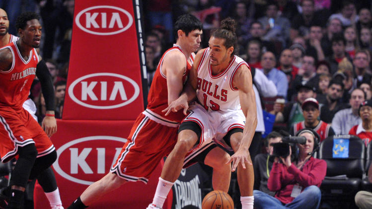 NBA: Milwaukee Bucks at Chicago Bulls
