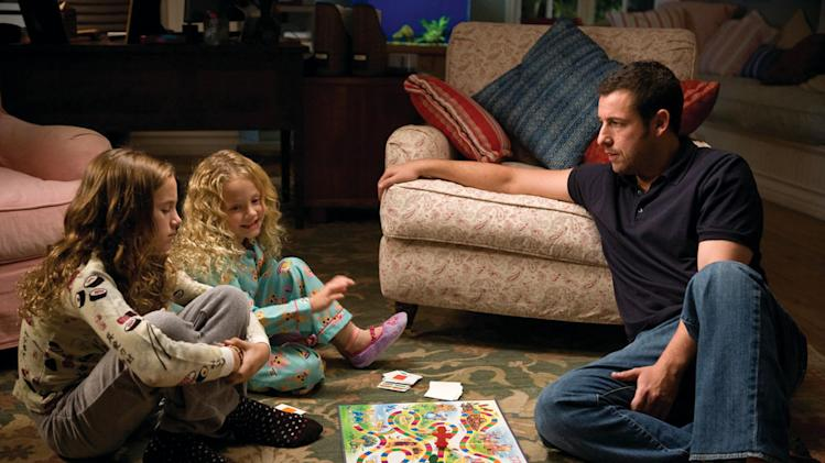 Maude Apatow Iris Apatow Adam Sandler Funny People Production Stills Universal 2009