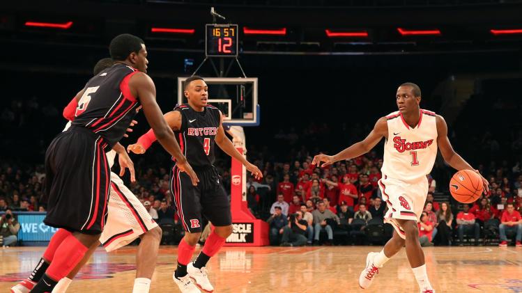 NCAA Basketball: Rutgers at St. John's