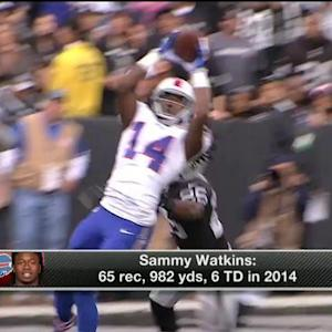 Which 2014 rookie wide receiver will have the best 2015?