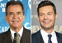 Dick Clark, Ryan Seacrest | Photo Credits: Vince Bucci/Getty Images, Jon Kopaloff/FilmMagic