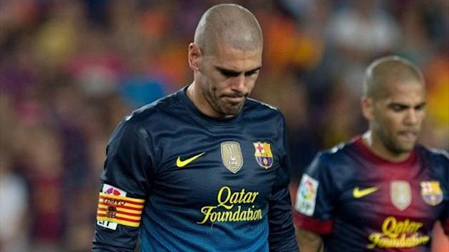 Victor Valdes Barcelona not in ITA