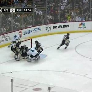Marc-Andre Fleury Save on Tomas Hertl (05:05/1st)