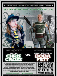 Visit Chris' website for more details of this 'Star Wars' inspired event.
