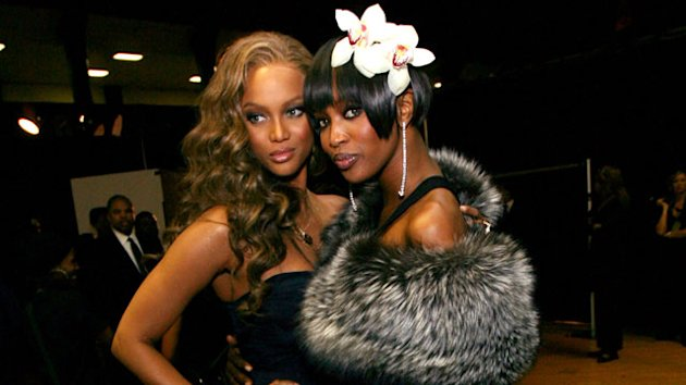 Naomi Silences Tyra Feud Rumors Once & For All