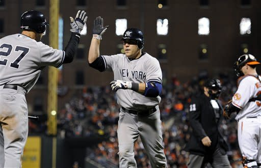 Yankees win ALDS playoff opener over Orioles 7-2