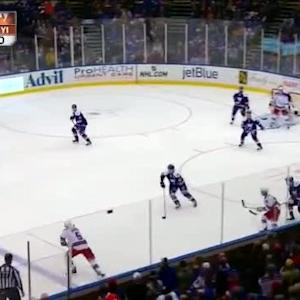 Henrik Lundqvist Save on Nick Leddy (07:08/1st)