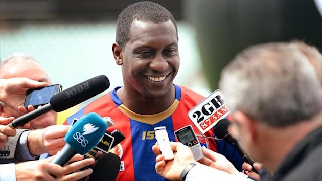 Emile Heskey of the Newcastle Jets (AFP)
