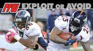 Exploit or avoid: Matchups point to two Broncos