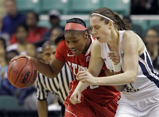 No. 15 Ga Tech women rout NC State 87-61 at ACCs