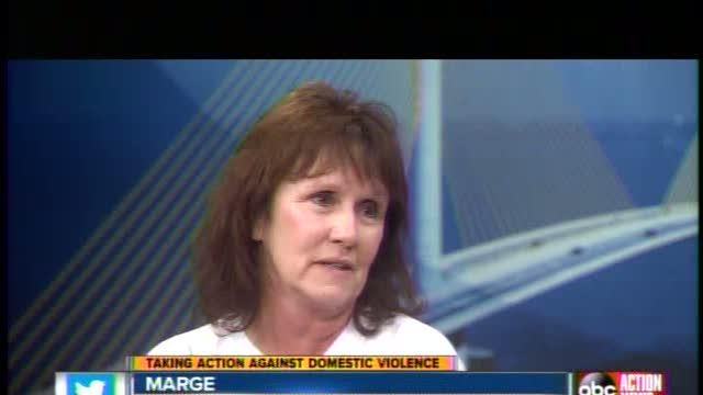 Domestic violence victim overcomes abuse