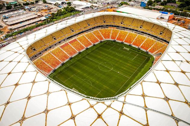 Brazil inaugurates another World Cup stadium