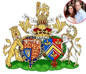 Kate Middleton, Prince William Reveal New Conjugal Coat of Arms: Picture