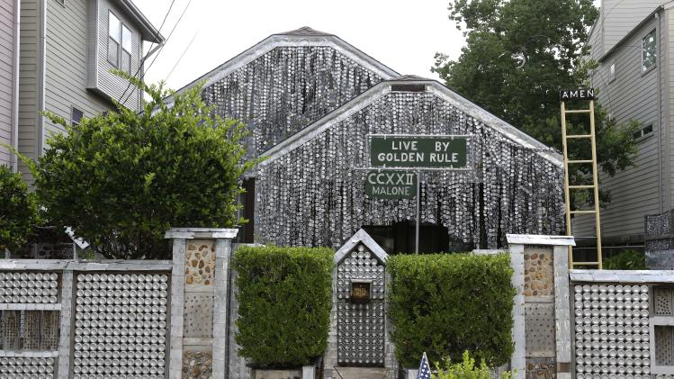 Photos: Houston's Beer Can House