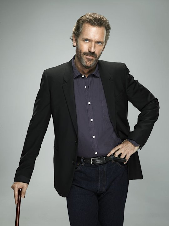 "Hugh Laurie stars as Dr. Gregory House in ""House."""