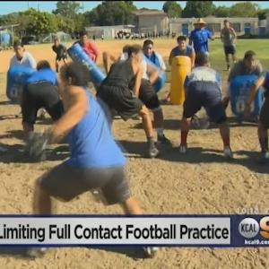 Calif. Bill Limits Full-Contact High School Football Practices