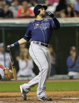 Rays overcome rain, Indians; game ends at 3 a.m
