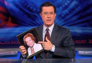 Lorna Colbert, Stephen Colbert | Photo Credits: Comedy Central