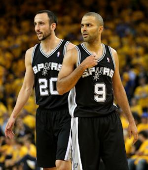 Spurs hold off Warriors, advance to West finals