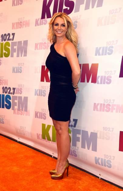 Britney Spears arrives at 102.7 KIIS FM's Wango Tango 2013 held at The Home Depot Center on May 11, 2013 in Carson, Calif. -- Getty Premium