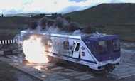 'Bomb-Proof' Trains: Engineers Reveal Designs