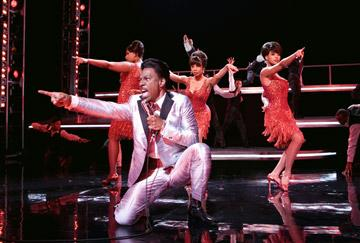 Eddie Murphy , Jennifer Hudson , Anika Noni Rose and Beyonce Knowles in DreamWorks Pictures' and Paramount Pictures' Dreamgirls