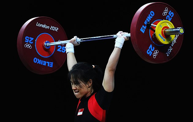 Weightlifter Helena Wong is happy with her efforts despite not reaching her personal best (Getty)