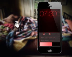 wake n shake alarm app iphone ipad
