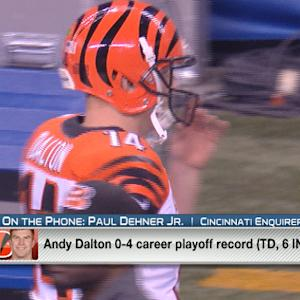 Is quarterback Andy Dalton's time running out in Cincinnati?