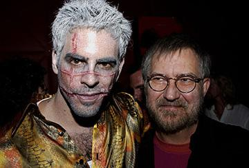 Eli Roth and Tobe Hooper at the LA premiere of Lions Gate's Cabin Fever