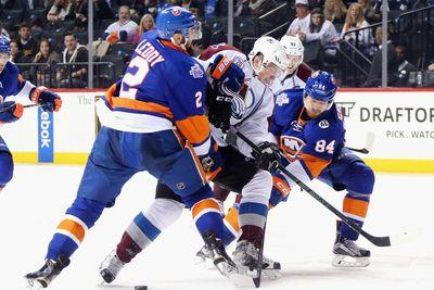 NHL Monday: Islanders score three times in the third, beat Colorado 5-3