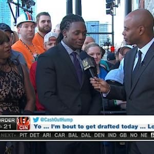 Wisconsin running back Melvin Gordon: 'It would be great to play anywhere'