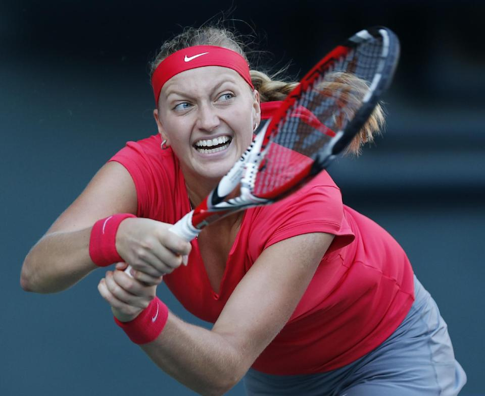 Kvitova, Kerber advance to Pan Pacific Open final