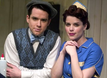Christian Campbell and Neve Campbell Showtime's Reefer Madness
