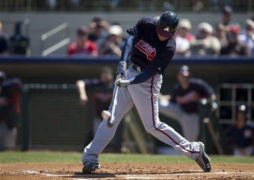 Braves bat 26 in 1st 3 innings, top Astros 14-9