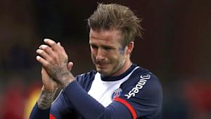 David Beckham wears captain's armband, adds assist for PSG in likely career finale