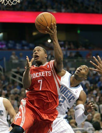 Magic find shots, down Rockets 104-95