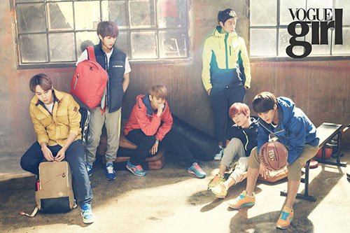 BEAST at a gym, massive charisma