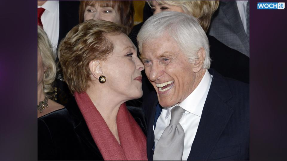 Julie Andrews & Dick Van Dyke Have A Mary Poppins Reunion At Saving Mr. Banks Premiere!