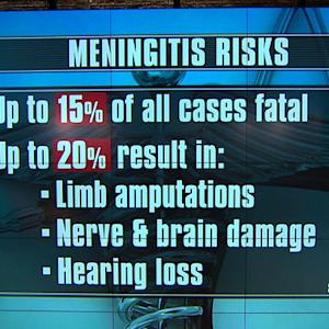 Meningitis outbreak pops up on two U.S. college campuses