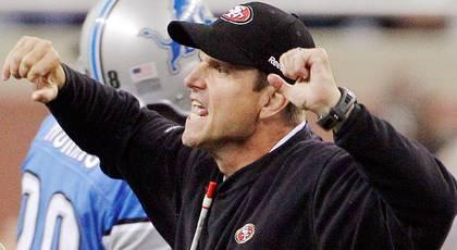 Jim Harbaugh hospitalized with irregular heartbeat